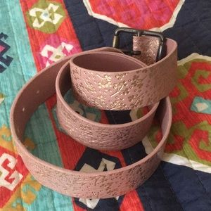 Genuine Leather Belt from GAP